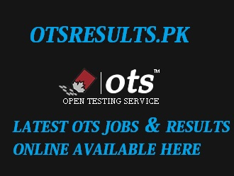 OTS Test Paper Pattern 2018 Syllabus Subject Wise