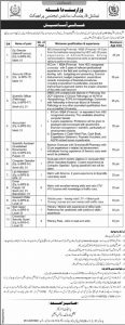 Ministry of Interior OTS Jobs 2019 Application Form Eligibility Criteria