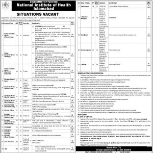 National Institute of Health OTS jobs 2019 Download Roll No Slip Online