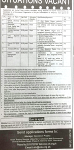 Government Organization KPK Jobs 2019 OTS Application Form Roll No Slip Online