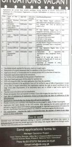 Government Organization KPK Jobs 2019 OTS Application Form Roll No Slip Online