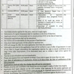 Government Organization KPK Jobs 2020 OTS Test Roll No Slip