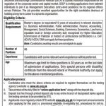 Securities & Exchange Commission of Pakistan SECP OTS Jobs 2020 Application form Eligibility Criteria