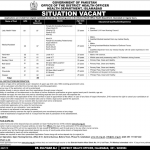 Health Department Islamabad OTS Jobs 2020 Application Form
