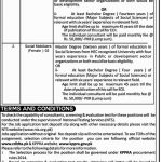 NTS Community Driven Local Development CDLD Jobs 2019 NTS Application Form Roll No Slip