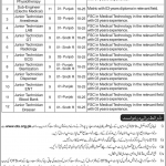 Federal General Hospital Chak Shahzad NHSRC Jobs 2020 OTS Application Form Roll No Slip