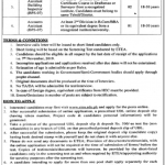 Tehsil Municipal Administration Swat Bahrain ETEA Jobs 2020 Application Form