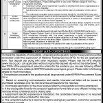 Deputy Commissioner Shangla Jobs 2020 NTS Application Form