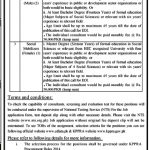 Deputy Commissioner Torghar Jobs 2020 NTS Test Roll No Slip