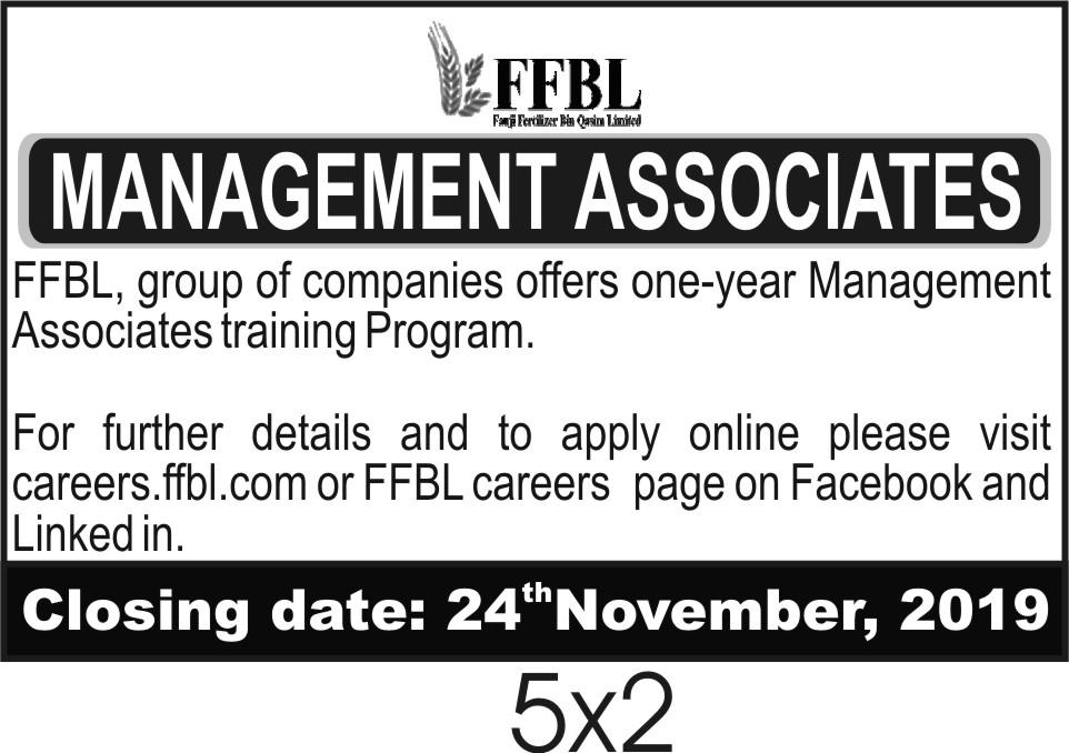 FFBL NTS Management Associates Program Jobs 2019 Application Form