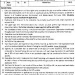 Lahore Development Authority NTS Jobs 2020 Application Form