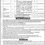 TMA Town Municipal Administration ETEA Jobs 2020 Application Form Roll No Slip