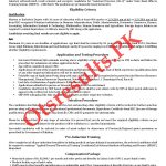 State Bank Officer Training Scheme SBOTS 24th Batch Jobs 2020 NTS Roll No Slip